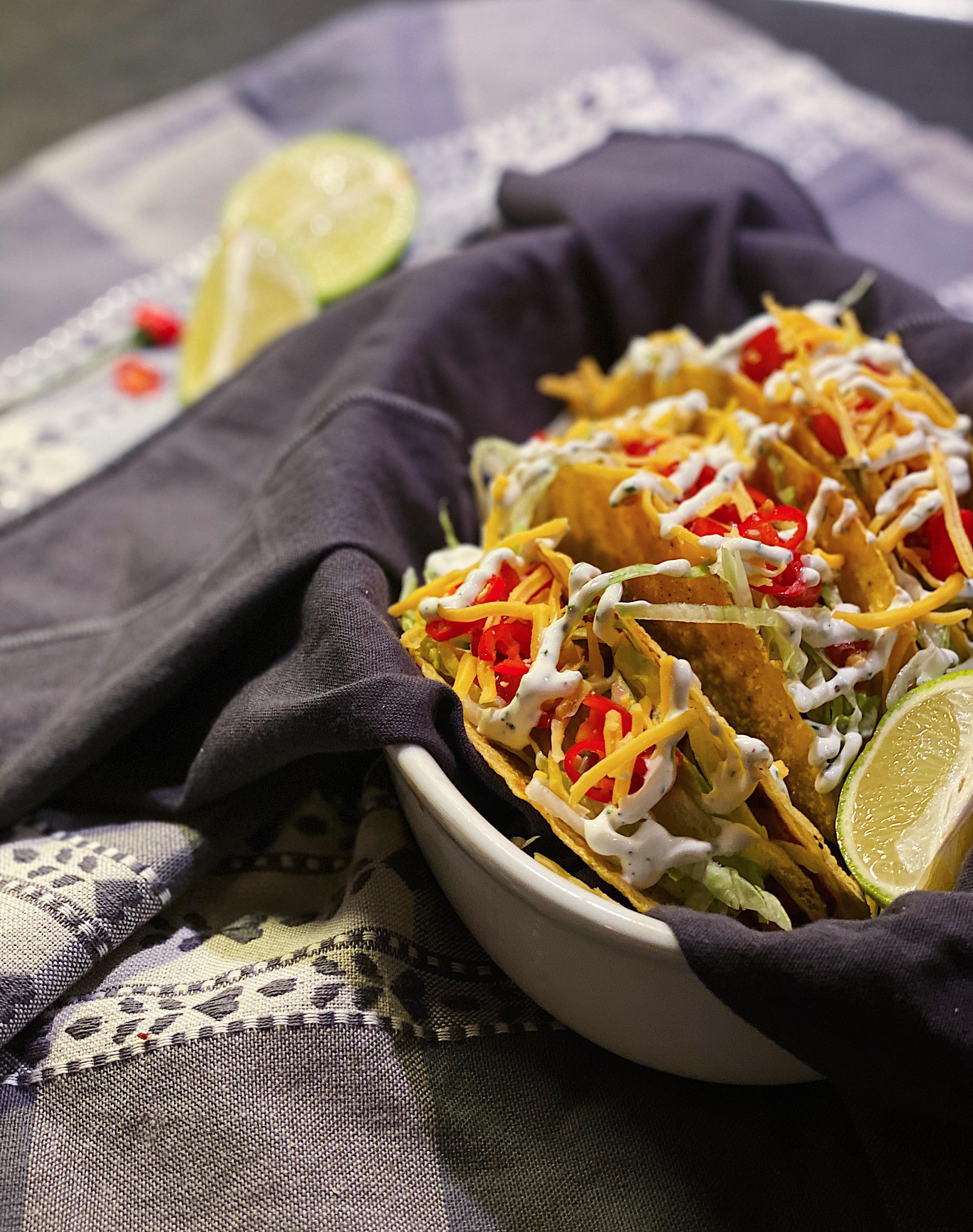 Tacoskaller med Chili Con Carne