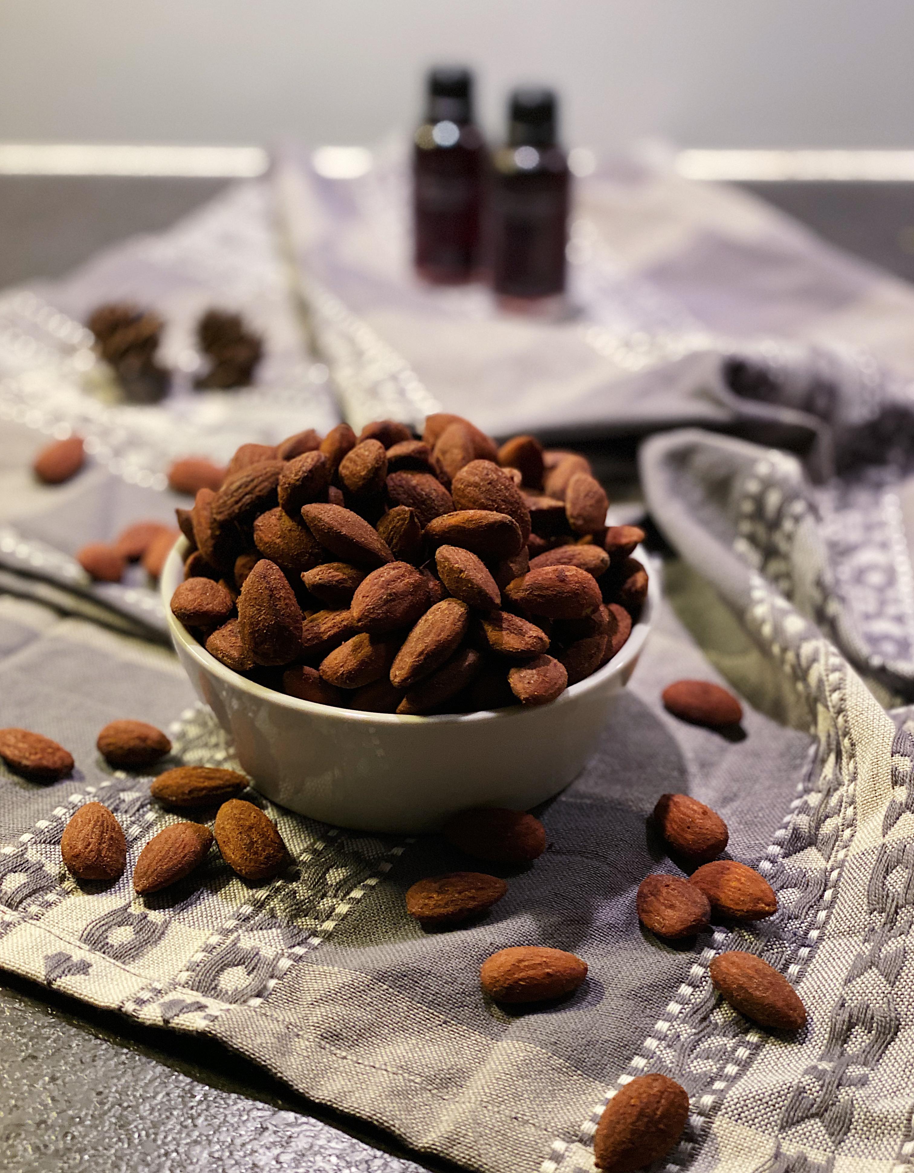 Ovn-ristede soyamandler